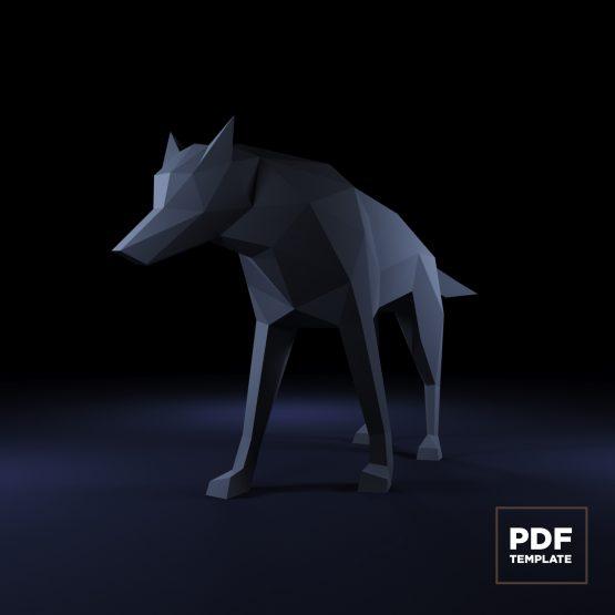 Wolf papercraft