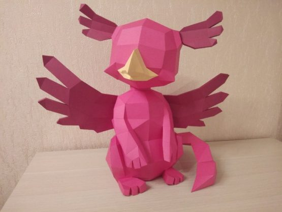 Griffin papercraft