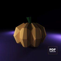Pumpkin papercraft