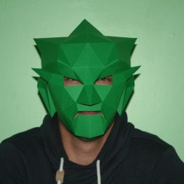 Giblin mask papercraft
