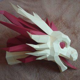 Dragon papercraft
