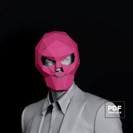 Skull mask papercraft