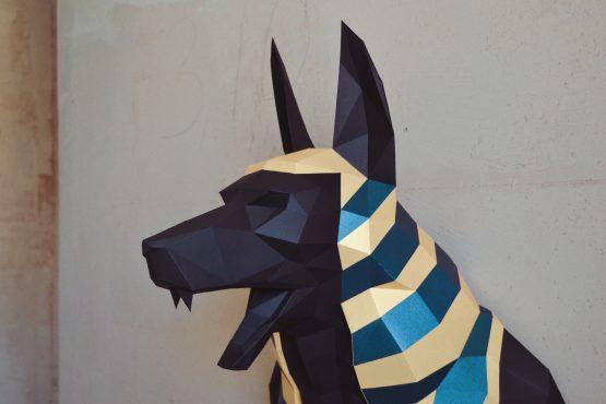 Anubis papercraft