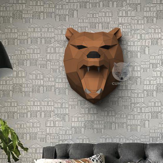 bear papercraft