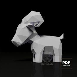 Ram papercraft