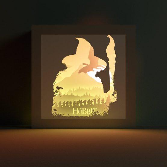 Hobbit lightbox