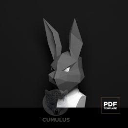rabbit mask papercraft