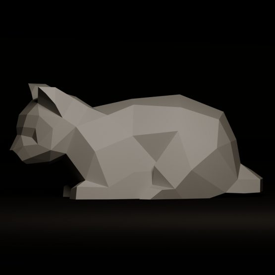 cat papercraft